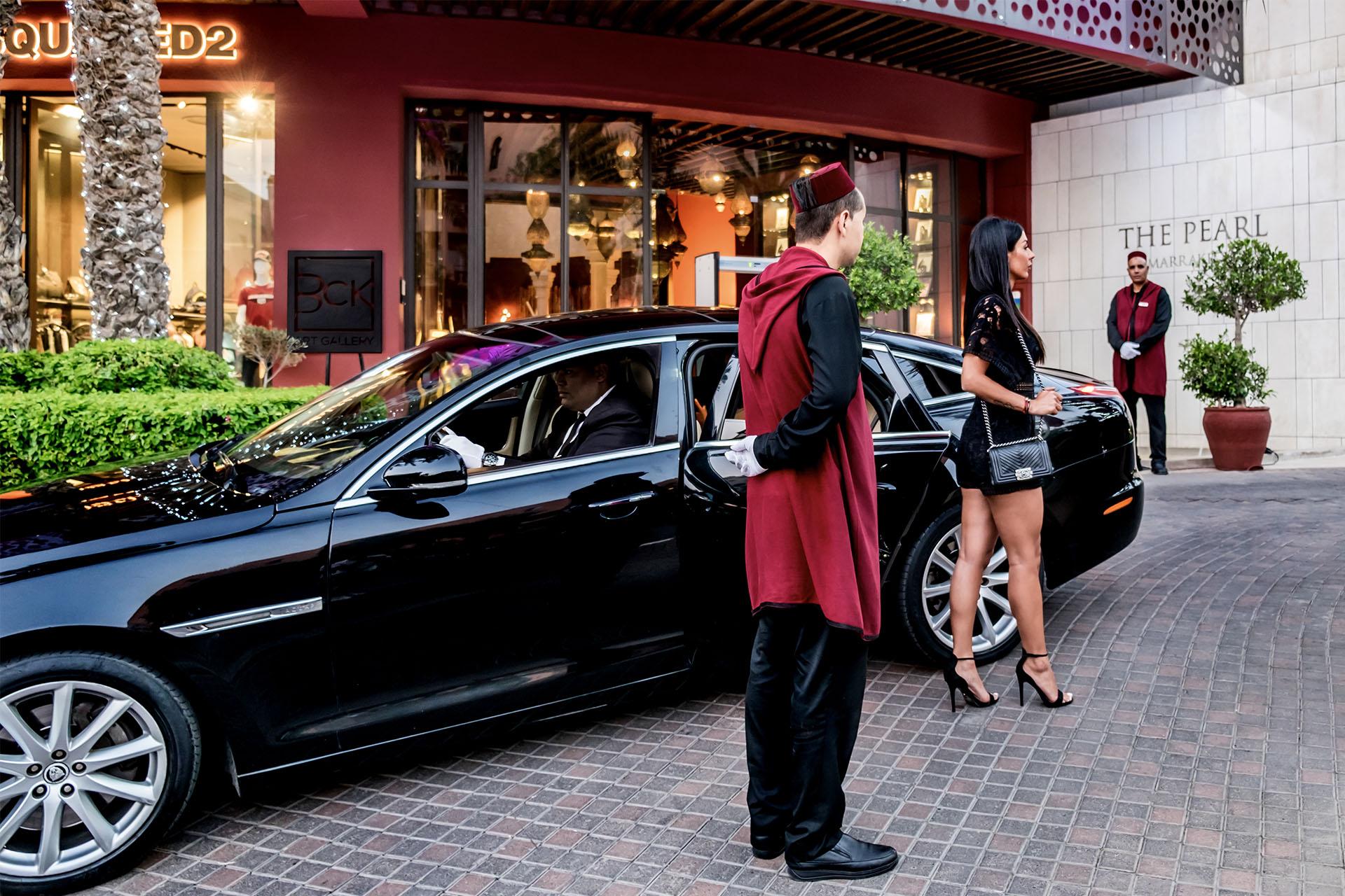hôtel the Pearl Marrakech conciergerie