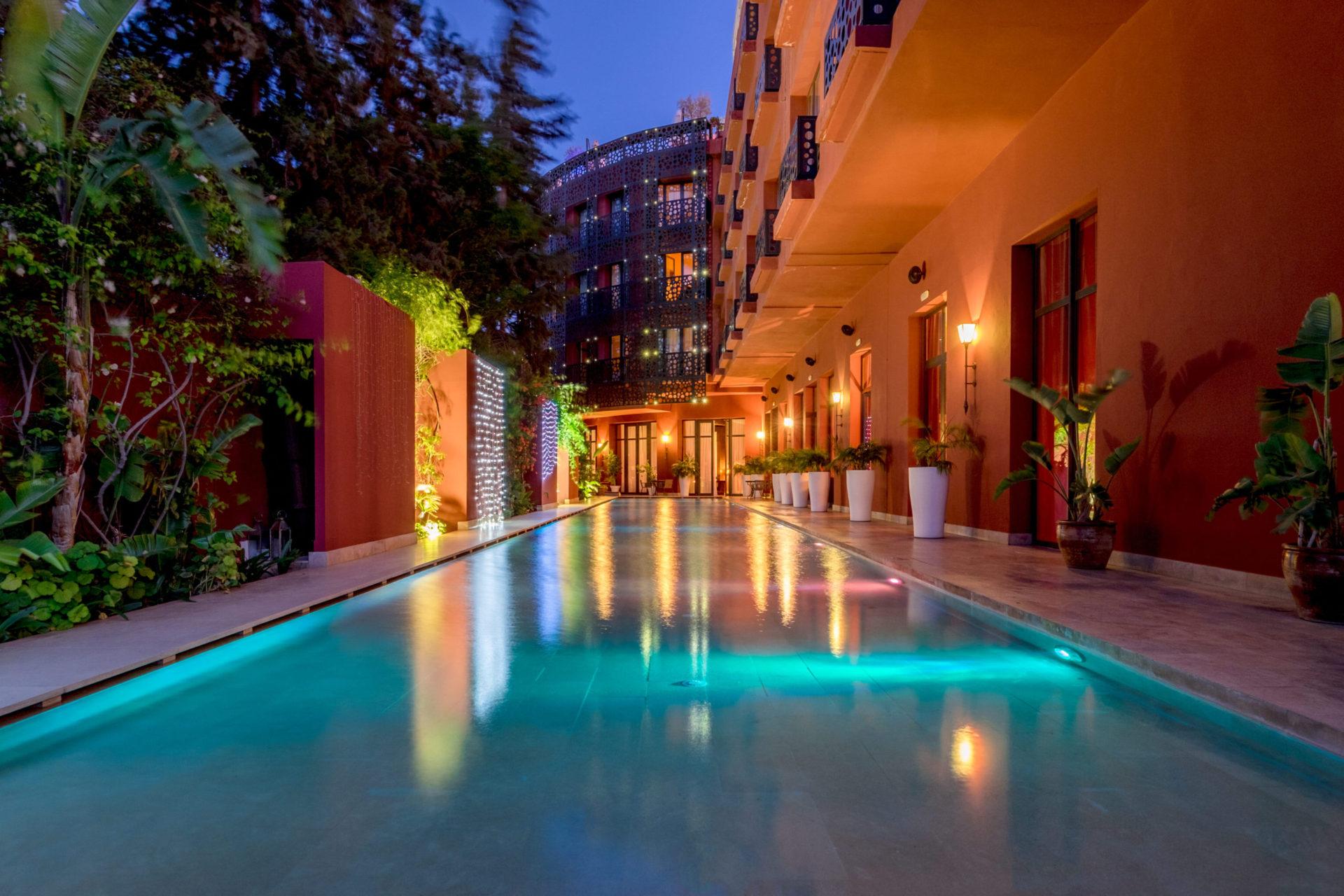 piscine extérieure The Pearl Marrakech